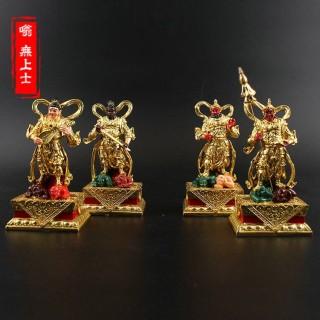 四大天王佛像神像树脂佛教护法天神像风调雨顺四大金刚天王像