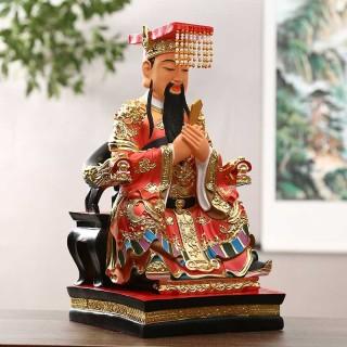 树脂玉帝王母16寸家用王母娘娘玉皇大帝佛像居家摆件天宫王母佛像