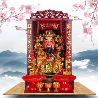 广式吊柜佛龛佛盒神楼神龛神台佛柜供桌供奉佛像供台财神爷观音