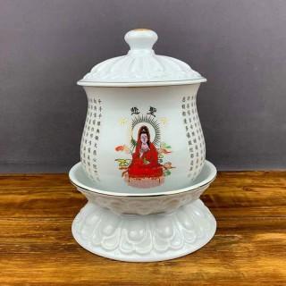 本善陶瓷圣水杯
